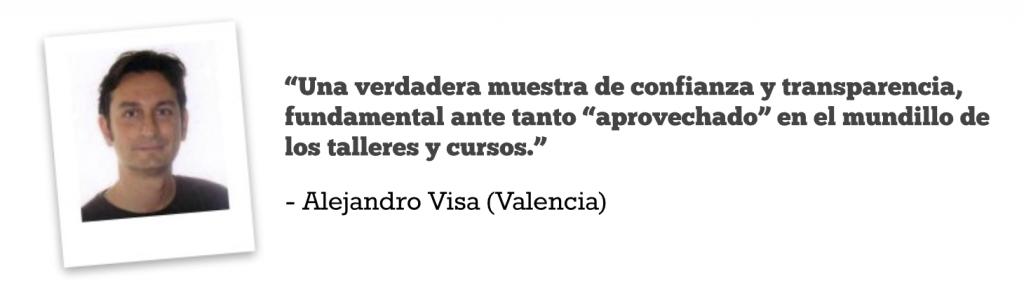 Opiniones CFP Alejandro Visa (mejor)