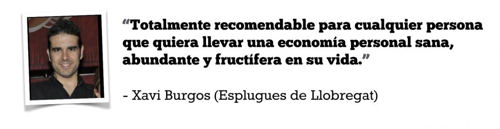 Opiniones CFP Xavi Burgos